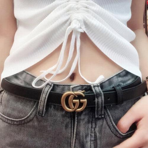 爆款!Gucci复古双G皮带 420加元起特卖!怎么穿都美爆了