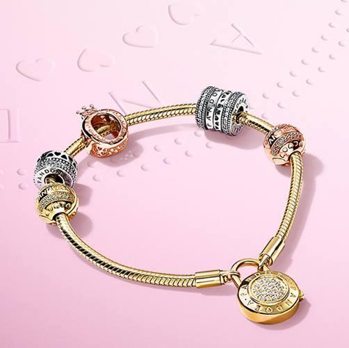 Pandora 潘多拉 限时闪购!指定款手镯、串珠、戒指等精美首饰全部7折!
