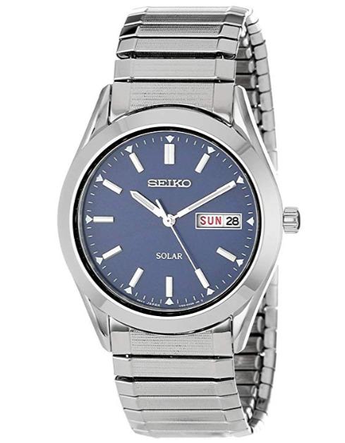 历史新低!Seiko 日本精工 SNE057 男士光动能腕表/手表5.4折 88.64加元包邮!