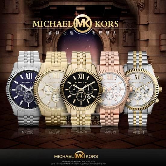 历史新低!Michael Kors MK8286 Lexington 三眼计时 时尚腕表/手表4.1折 154.72加元包邮!