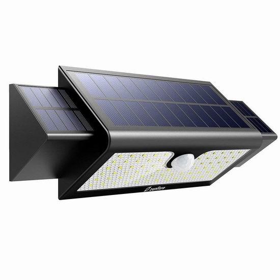 Zanflare 71 LED 1000流明超亮 太阳能运动感应灯5.6折 19.6加元!