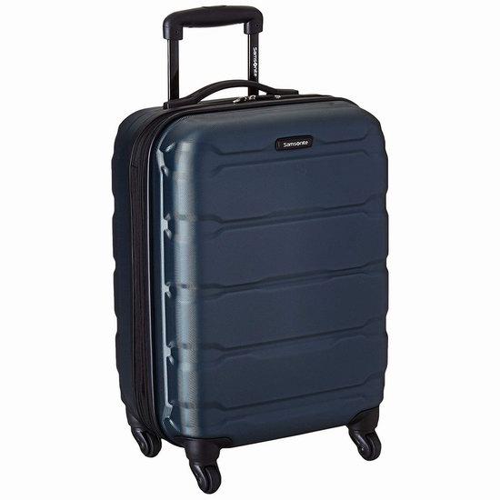 手慢无!Samsonite 新秀丽 Omni 全PC 20英寸 蓝绿色超轻硬壳拉杆行李箱/登机箱 84.96加元包邮!