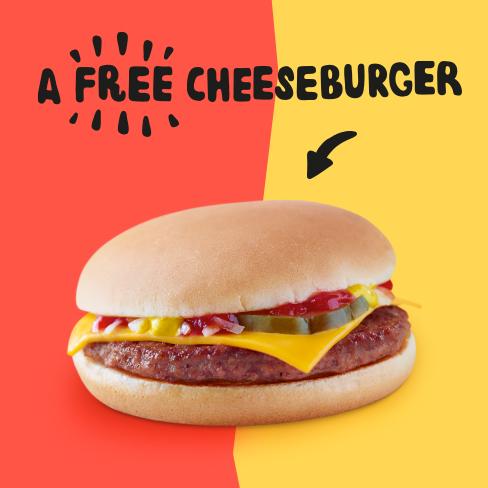 McDonald's 麦当劳 全国芝士汉堡日,9月18日免费送芝士汉堡!