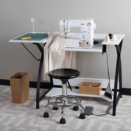 历史新低!Studio Designs 13332 Comet 多用途 缝纫机桌/电脑桌5.4折 97.44加元包邮!