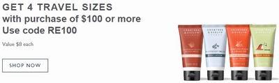 独家最后一天!Crabtree & Evelyn 瑰珀翠 Gardeners 园艺大师系列 护手霜等护肤品3.3折清仓+全场超值礼盒5折+满送价值32加元4件套护肤礼包!