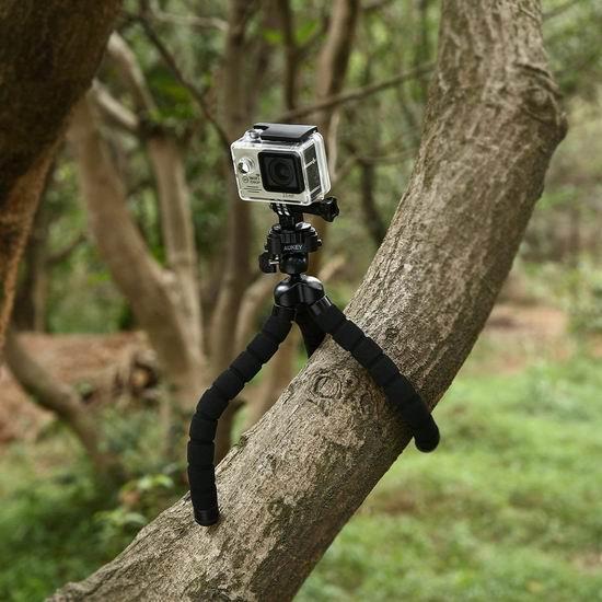 历史新低!AUKEY 超灵活多功能 手机/相机/摄像机 三脚架 18.99加元!
