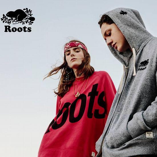 折扣升级!Roots 特卖区全面降价!精选成人儿童服饰、鞋靴、皮包等4折起+额外8折!