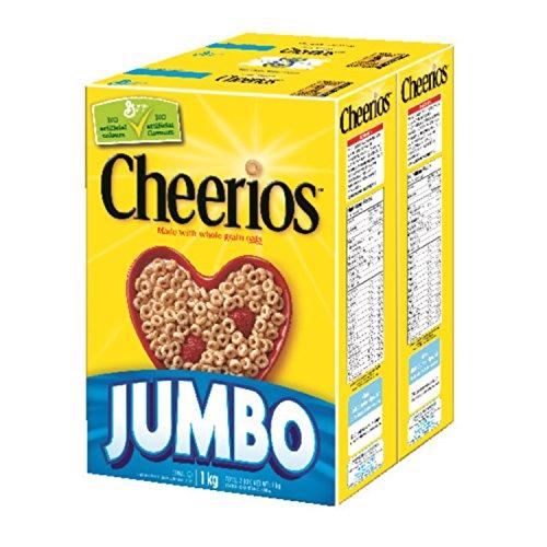 历史新低!Cheerios 全天然 五谷全麦 麦圈1公斤超值装4.6折 4.65加元!