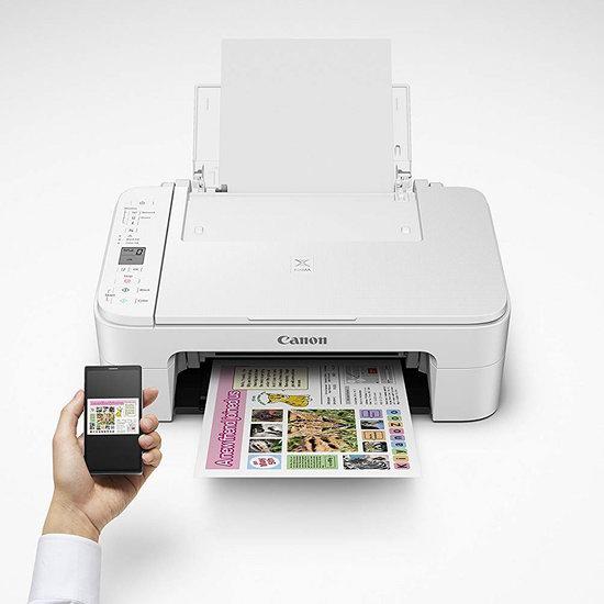 Canon 佳能 PIXMA TS3120 无线多功能彩色喷墨打印机3.9折 39.98加元+包邮!
