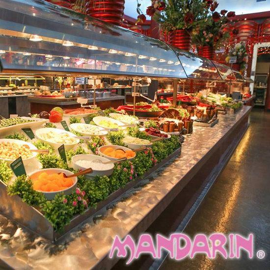 Mandarin 文华自助餐厅10月1日(星期一)老人享5折优惠!