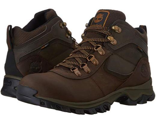 Timberland 添柏岚 Mt. Maddsen Mid WP 男式登山靴(9.5码) 89.72加元包邮!