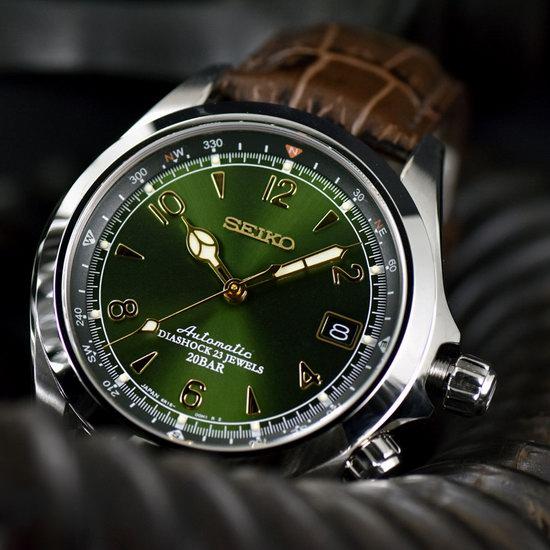 手慢断货!网红爆款 Seiko 日本精工 Alpinist SARB017 男士自动机械腕表/手表6.8折 505.24加元包邮!