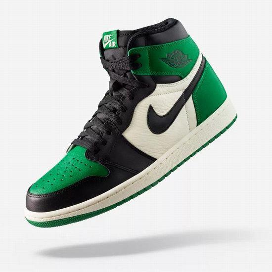 速抢!新品发售!Nike 耐克 Air Jordan 1 绿/紫脚趾 成人儿童运动鞋 140加元起!