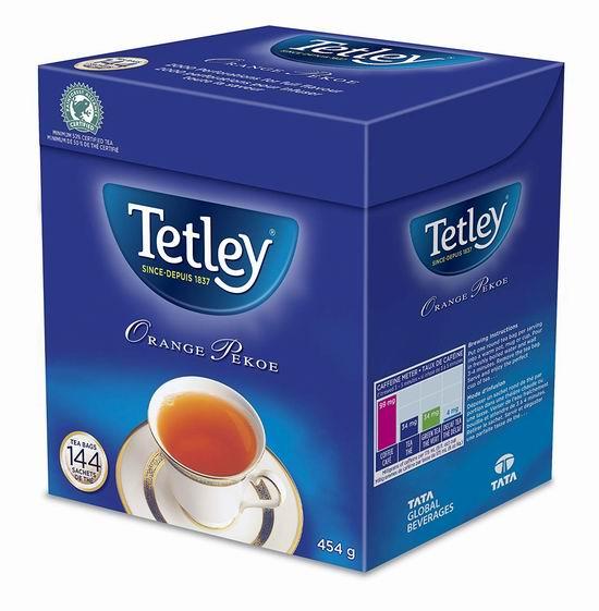 Tetley Orange Pekoe 锡兰红茶(144包)超值装3折 7.14加元!