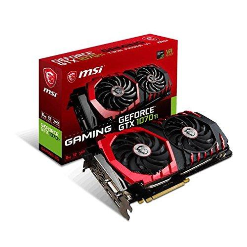 历史新低!MSI 微星 GTX 1070 TI Gaming 8G 旗舰红龙 游戏显卡4.6折 549.97加元包邮!