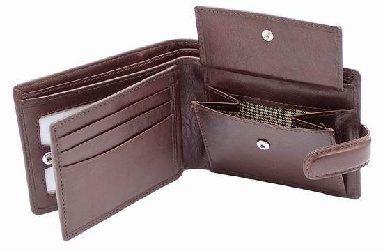 Starhide 男士时尚 RFID防盗 棕色真皮钱包 20加元限量特卖并包邮!