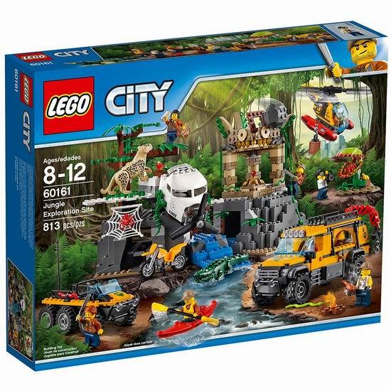 Lego 乐高 60161 城市系列 丛林勘探场(813pcs)6折 89.99加元包邮!