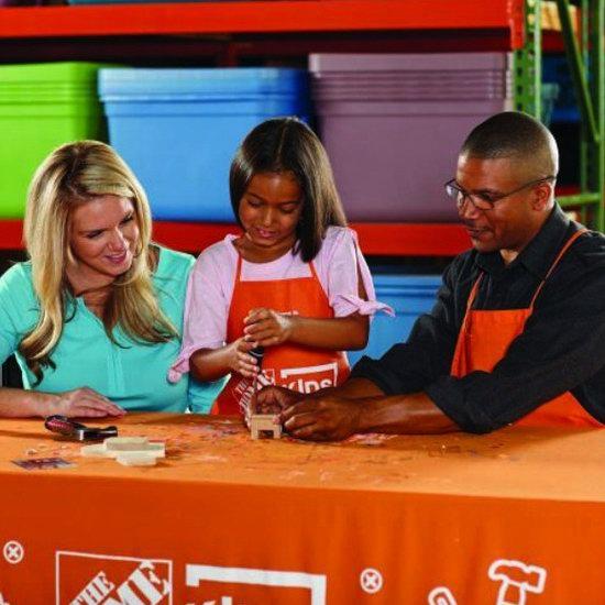 Home Depot 10月份免费儿童手工课,及家庭装修免费课程安排一览!