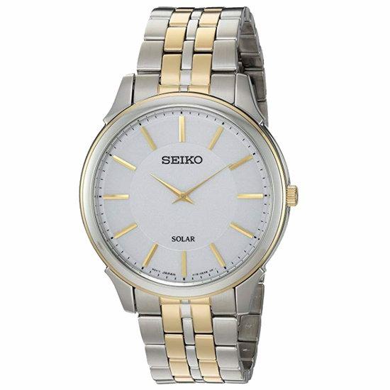 历史新低!Seiko 日本精工 SUP864 太阳能 男士腕表/手表3.2折 136.11加元包邮!
