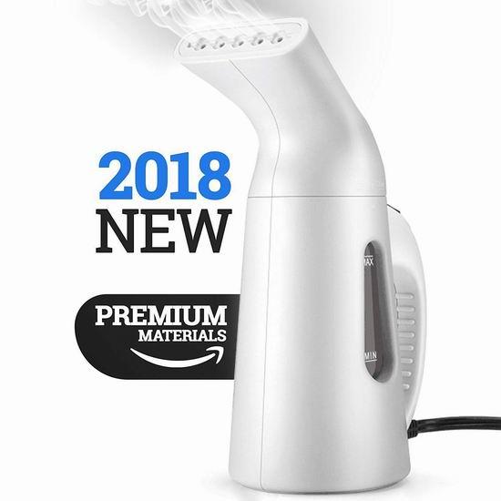Arespark Lypumso 白色便携式蒸汽挂烫机 23.97加元限量特卖!