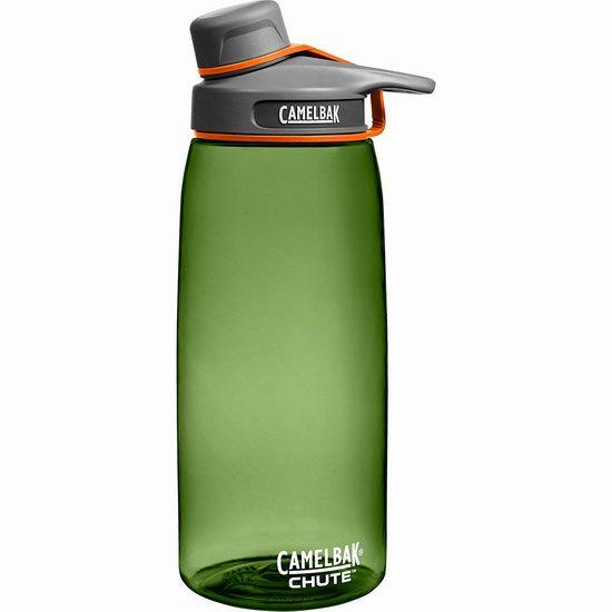 历史新低!Camelbak 驼峰 绿色 1升大容量水杯4.9折 11.26加元!