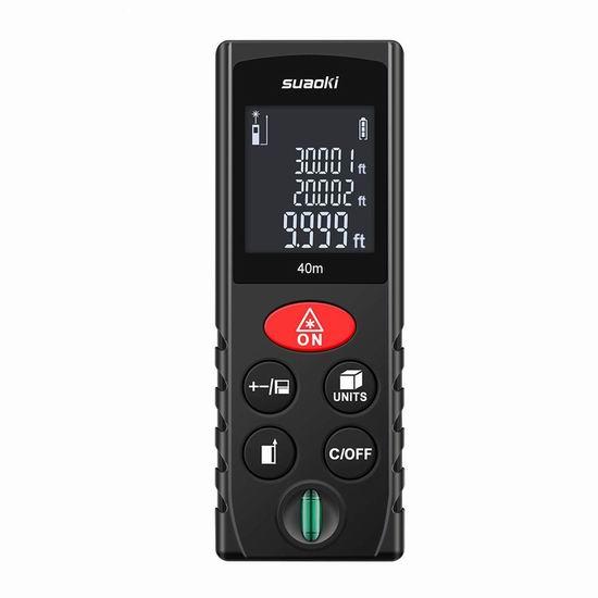 历史新低!SUAOKI 131英尺 激光测距仪 21.99加元!