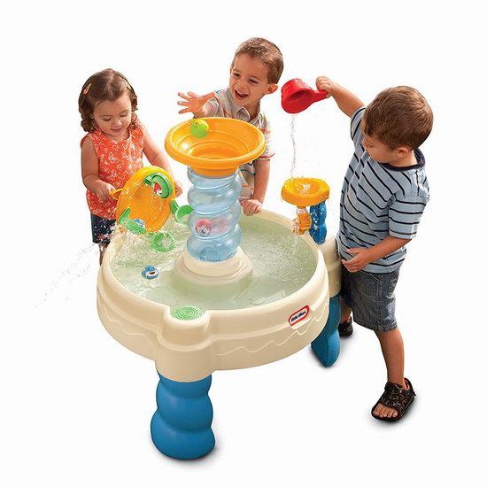 历史新低!Little Tikes 小泰克 Spiralin 海洋世界 儿童戏水桌6.9折 49.86加元包邮!