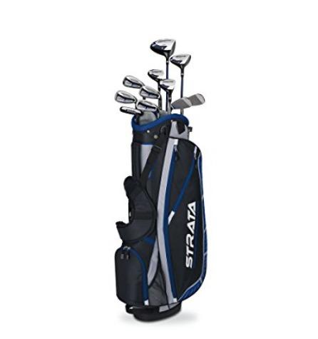 Callaway 卡拉威 Golf Strata Plus 高尔夫球杆 16件套 315.3加元(右手 ),原价 415.99加元,包邮