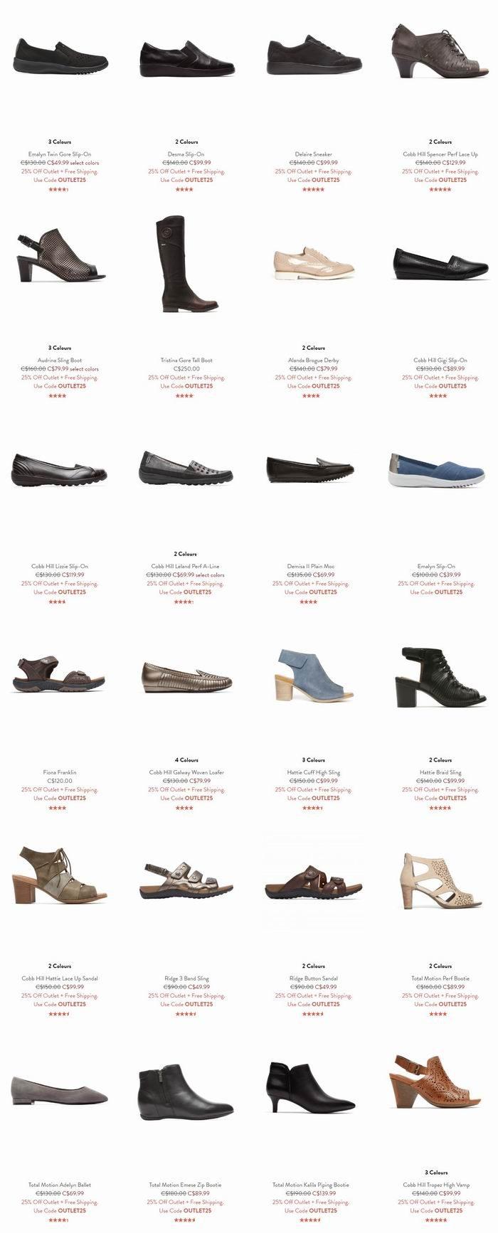 Rockport 乐步 季末清仓!男女时尚皮靴3.8折起+额外7.5折+包邮!