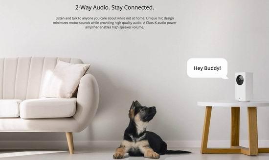 近史低价!Wyze Cam Pan 1080p全高清 家用智能安全摄像头 55.57加元包邮!