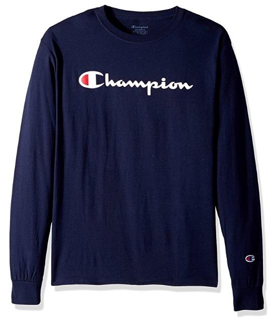 男神吴亦凡的最爱!Champion Classic Jersey 男士经典长袖T恤 28.16加元!16色可选!