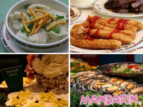 吃货福音!Mandarin 文华自助餐厅 7月1日公民免费任吃!