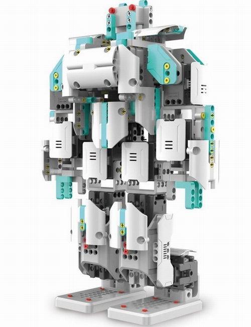历史新低!UBTECH 优必选 JIMU 高端版 Inventor App-Enabled STEM 五合一 智能积木机器人 409.01加元包邮!