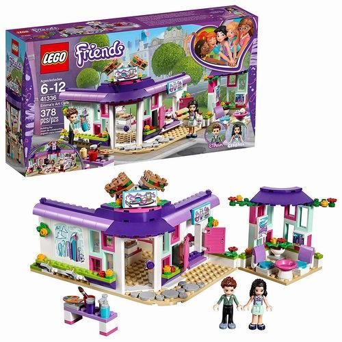 LEGO 乐高 41336好朋友系列 艾玛的艺术咖啡馆 31.97加元,原价 39.99加元