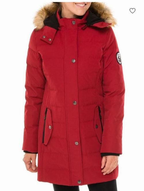 Arctic Expedition防风防水 人造毛领修身长短款羽绒服 7.5折 171.75加元起特卖!