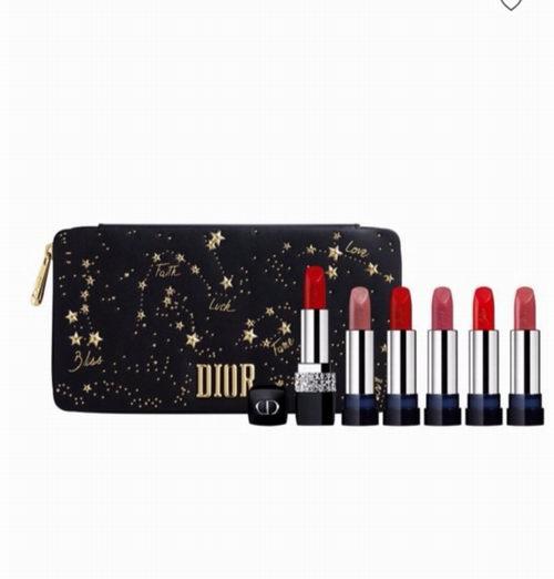 Dior 迪奥 2018唇膏哑光999圣诞限量礼盒6支口红 179.1加元,原价 199加元,包邮