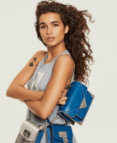 DKNY Jaxone时尚手提包/单肩包 148.8加元(2色),原价 248加元,包邮