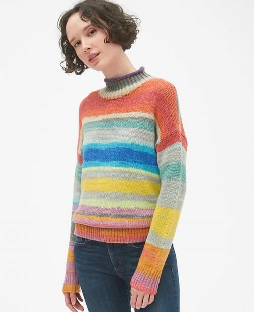 GAP 特卖区服饰3折起!全场额外6折+秋冬服饰额外再9折!入新款毛衣、格子大衣!