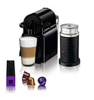 Nespresso Inissia 胶囊咖啡机+奶泡机套装 149.99加元,原价 249加元,包邮