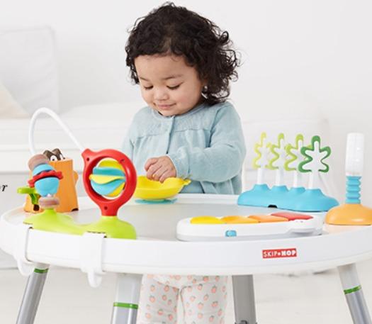 精选 Skip Hop 妈咪包、水杯、玩具、双肩包 4.8折起特卖!