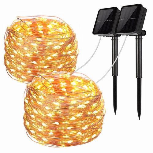 LiyuanQ Solar String Lights