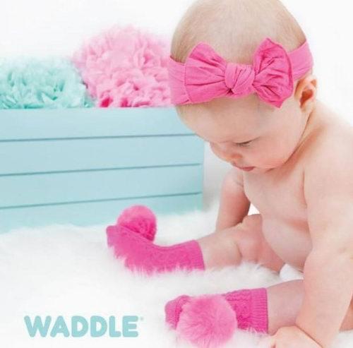 新款加入!Waddle超可爱 宝宝袜子 5.1折 15加元起特卖+全场包邮!