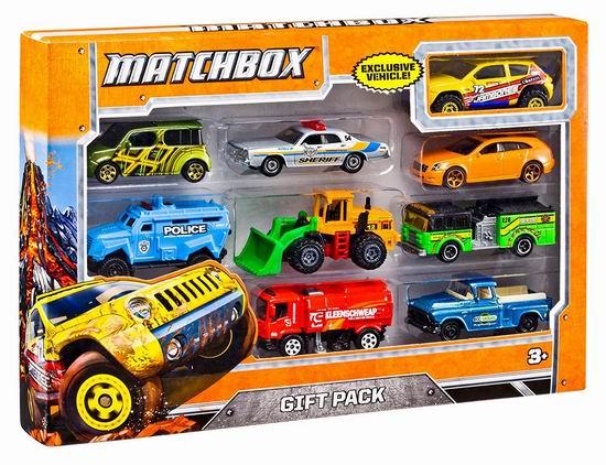 Matchbox 玩具车9件套4.5折 9加元!