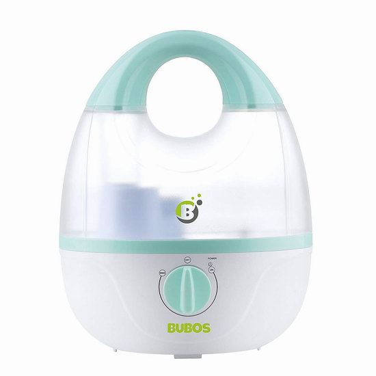 Bubos 1.8升 零噪音超声波 冷雾加湿器5.3折 24.64加元限量特卖!
