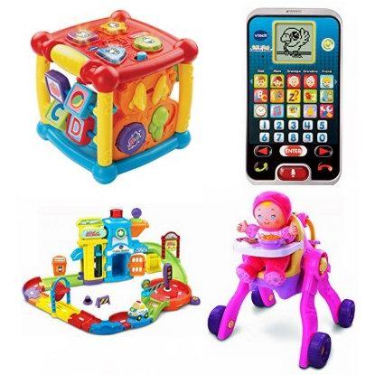 金盒头条:精选 VTech 伟易达 益智类儿童玩具、儿童卡拉OK机等5.2折起!售价低至9.57加元!