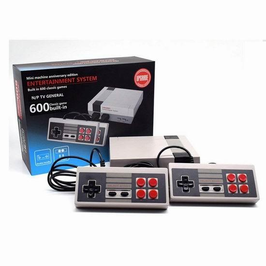 速抢!Generic Retro 600合一 双手柄 经典复古游戏机 20加元限量特卖并包邮!