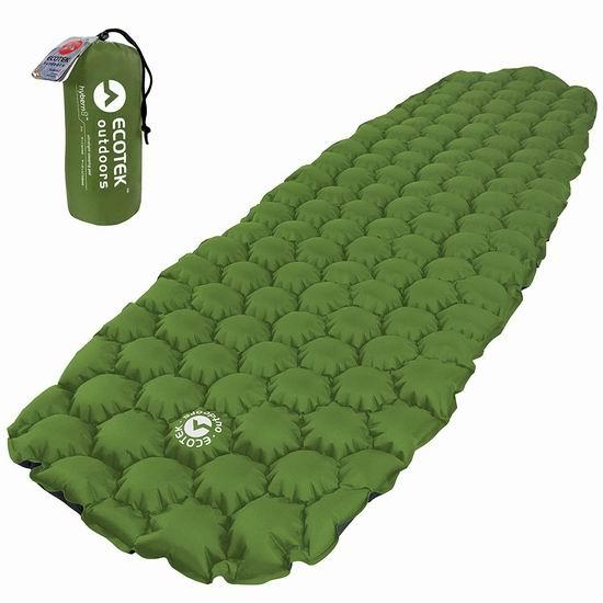 EcoTek Outdoors Hybern8 超轻充气睡垫 42.45加元限量特卖并包邮!