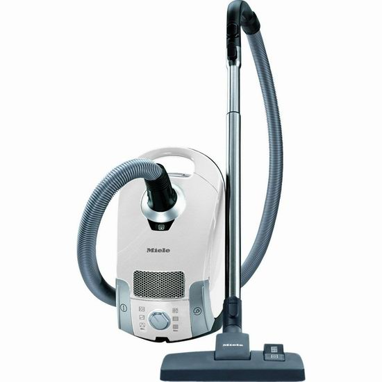近史低价!Miele 德国美诺 Compact C1 Pure 白色 卧式吸尘器6折 299.88加元包邮!
