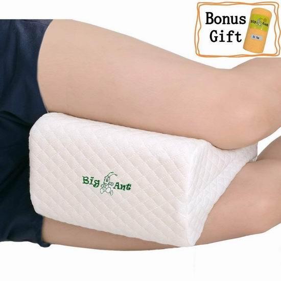 Big Ant 记忆海绵 美腿保健枕/护腿枕 18.36加元限量特卖!