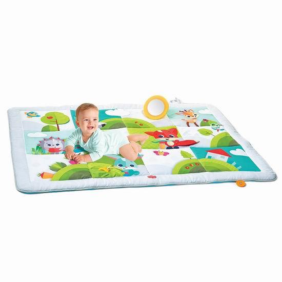 历史新低!Tiny Love TO02607001PK Super 宝宝豪华游戏垫6.3折 43.99加元包邮!